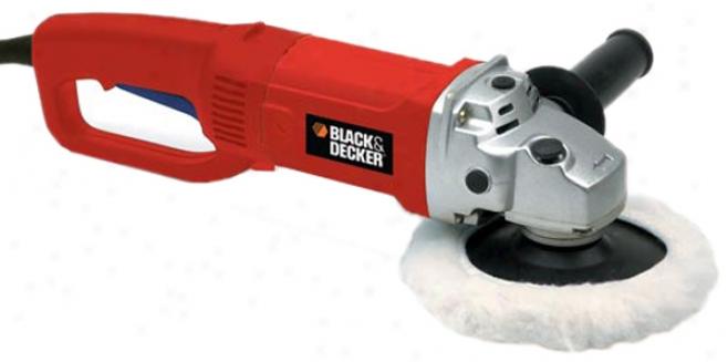 Black & Decker 7'' Sander / Polisher