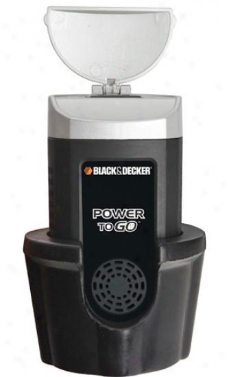 Blcak & Decker Cup Style 100w Power Inverter Ac/usb