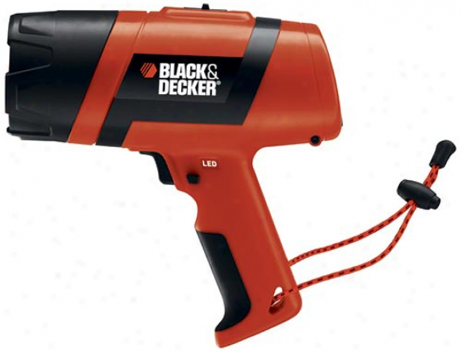 Black & Decker Rechargeable Led Spotlight