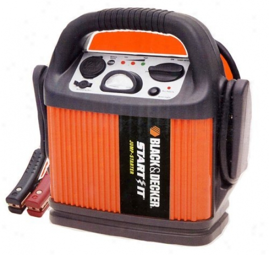 Black & Decker Start-it 300 Amp Rechargeable Jump Starter