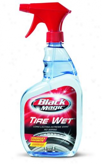 Black Magic Tire Wet (23 Oz.)