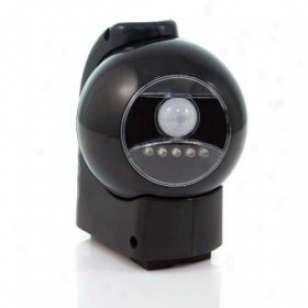 Balck Motion Activated Led Outdoor Light