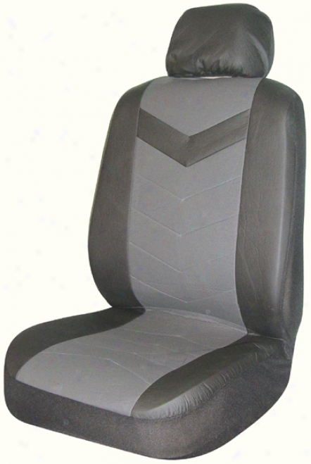 Black Rainer Universal Bucket Seat Cover (pair)