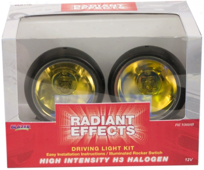 Blazer Radiant Effects Round Blue Light Kit