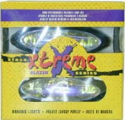Blazer Tear Drop Neon Blue Fog Xtreme