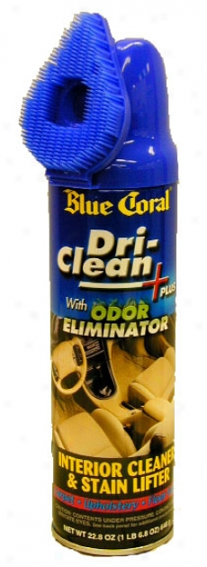 Blue Coral Dri-clean Carpet & Upholstery Cleaner S0ray