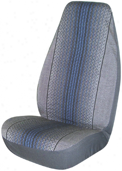 Blue Fast Lane Universal Bucket Seat Cover (pair)