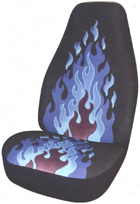 Pedantic  Flame Tweed Universal Bucket Seat Cover