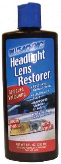 Blue Magic Headlamp Lens Restorer (8 Oz.)