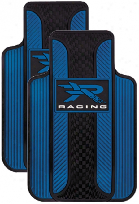 Blue ''r'' Racing Floor Mat (pair)