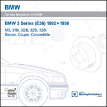 Bmw 3 Succession (e36): 1992-1998 M3, 318i, 323i, 325i, 328i Sedan, Coupe, Convertible