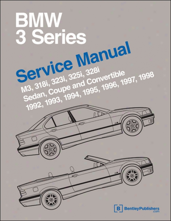 Bmw 3 Series (e36) Service Of the hand: 1992-1998