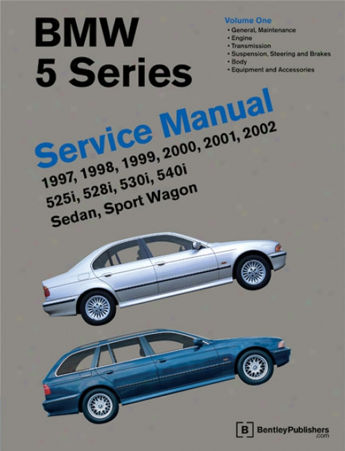 Bmw 5-series Service Manual: 1097-2002 (2 Volume)