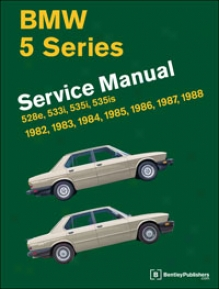 Bmw Repair Manual: 5 Series (e28): 1982?1988