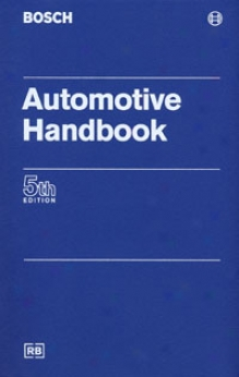 Bosch Automotive Handbook 5th Edition