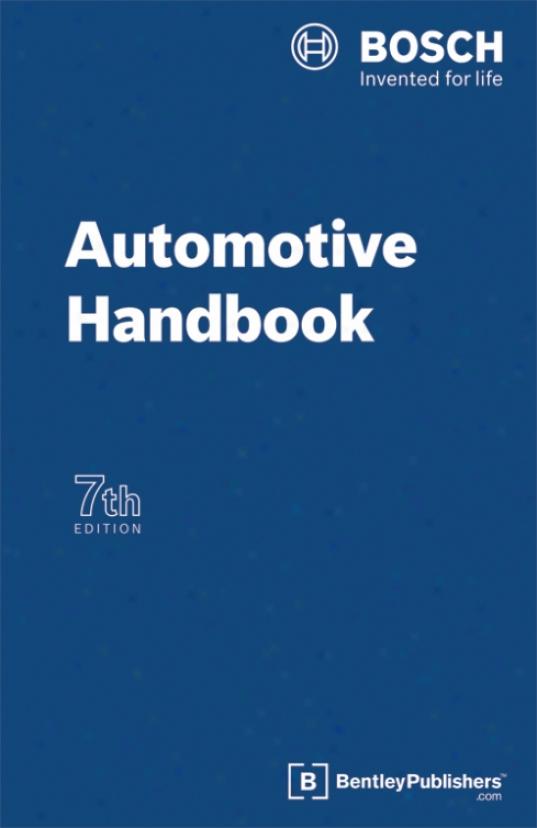 Bosch Automotive Handbook 7th Edition