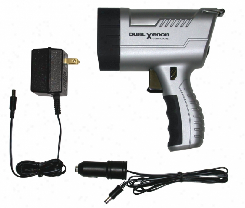 Brinkmann? Maxfire Dual Xenon Rechargeable Spotlight