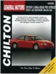 Buick Century, Regal, Chevy Lumina, Monte Carlo, Oldsmobile Cutlass Supreme, Intrigue, Pontiac Stately Prix Chilton Manual (1997-2000)