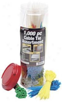 Cable Tie Assortment - 1,000 Pc.
