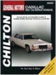 Cadillac (1967-1989) Chilton Manual