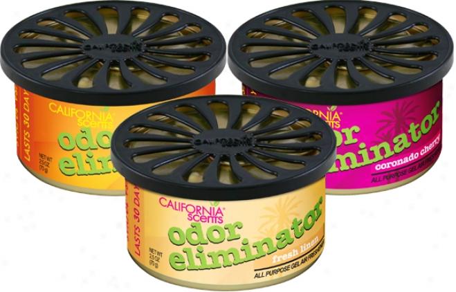 California Scents Odor Eliminator Geel Air Freshener (2.5 Oz.)