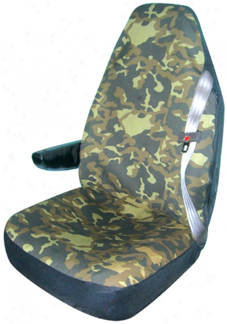 Camouflage Truck Buck3t Seat Cover (pair)