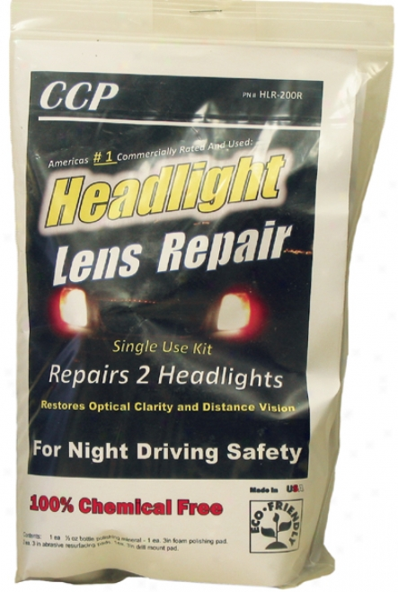 Ccp Headlight Lens Repair Kit