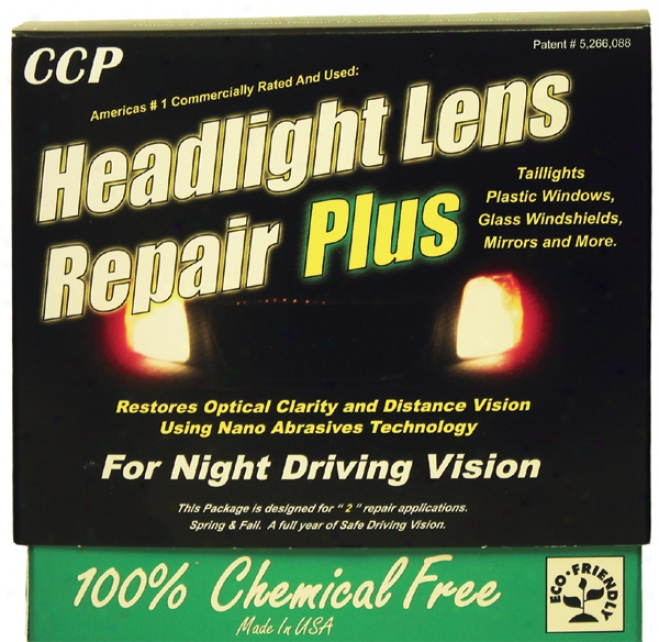 Ccp Headlight Lens Restoration Plus Kit
