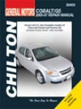 Chevrolet Cobalt/pontiac G5 (2005-07) Chilton Manual