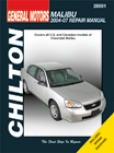 Chevrolet Malib8 (2004-07) Chilton Manual