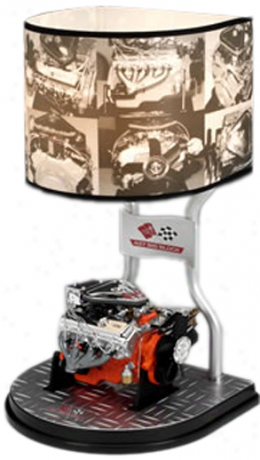 Chevy Big Block L89 Tri-power Table Lamp