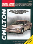 Chevy Lumina, Monte Calro, Buick Kingly, Oldsmobile Cutlass Supreme, Pontiac Grand Prix Chilton Manual (1988-1996)