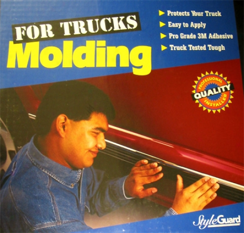 Chevy Silverado Truck Side Molding