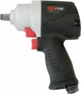 Chicafo Pneumatic 1/2'' Drive Impact Gun - Ultra Compact