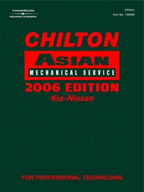 Chilton 2006 Asian Service Manual (vol 2)