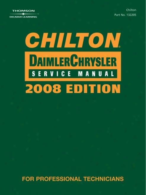 Chilton 2008 Daimler Chrysler Service Manual Set (vol 1 & 2)