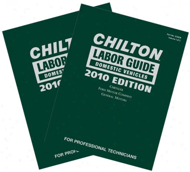 Chilton 2010 Labor Guide Set (vol 1&2)