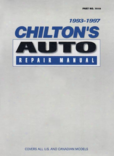 Chilton Auto Repair Manual (1993 - 1997)