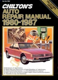 Chilton Collector's Edition Auto Repair Of the hand 1980-1987