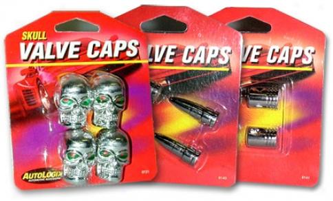 Chrome Valve Cap Series