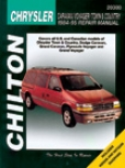 Chrysler Caravan, Voyager And Place & Country Chilton Manual (1996-2002)