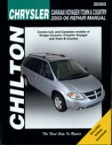 Chrysler Caravan/voyager/town & Country (2003-06) Chilton Manual