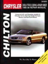 Chrysler Cirrus/stratus/sebring/avenger/breeze (1995-98) Chilton Manual