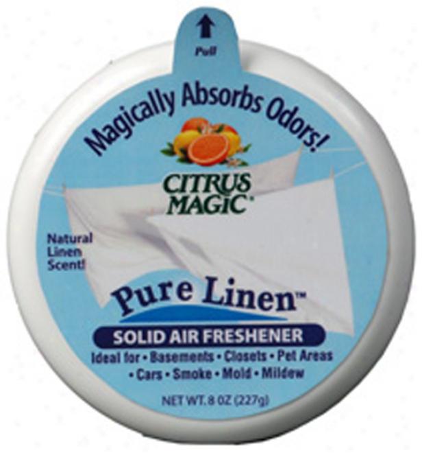 Citrus Magic? Pure Linen Solid Air Freshener (3.5 Oz.)