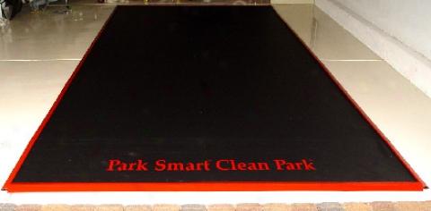 Clean Park Garage Mat (special Ecition)
