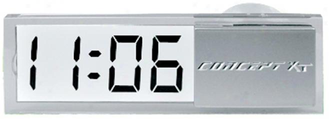 Clear Digital Clock