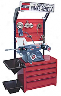 Combination Sigle Speed Lathe Against Brake Drums And Rotors