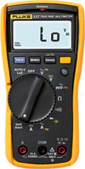 Compact Electrician?s Multimeter With Non-contact Voltage