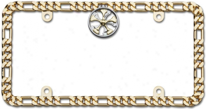Cruiser 24k Gold Spinner Designer Chain Frame