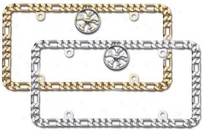 Cruiser Chrome Designer Chain Frame